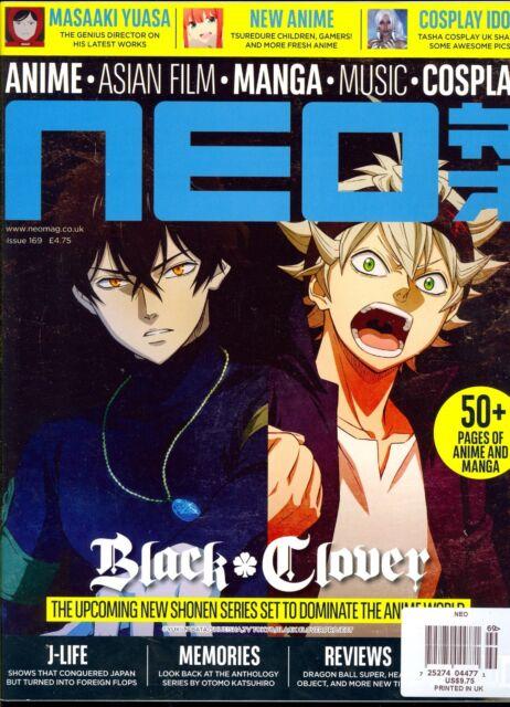 NEO Magazine#169 November 2017 ANIME-Asian Film-MANGA-Music-COSPLAY Black Clover