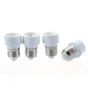4x-E27-vers-GU10-led-lumiere-Adaptateur-douille-culot-adapte-lampe-ampoule-O7S2