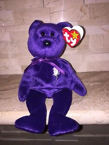 db436dd2d5d TY PRINCESS DI BEANIE BABY WITH SPACE   PE PELLETS TUSH TAG