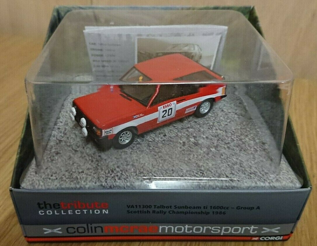 Corgi VA11300 Colin McRae Talbot Sunbeam ti 1600 Scottish Rally Chmpionship 1986