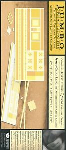 Creative-Memories-JUMBO-GREAT-LENGTHS-YELLOW-amp-CHAMOIS-STICKERS