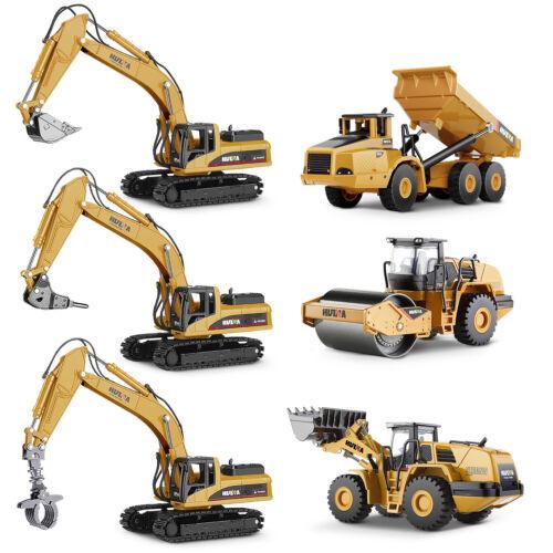 Bagger Spielzeug Kinder 1:50 Fahrzeug Schaufelbagger Spielzeugauto Baufahrzeug