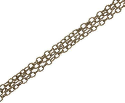 10m 2x3mm Necklace Bracelet Chains Bulk for DIY Jewelry Making materials 32ft