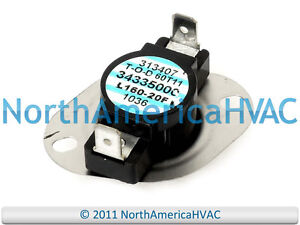 Details about OEM ICP Heil Tempstar Sears Furnace Limit Switch L160-20F on