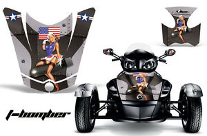 AMR-Racing-CanAm-BRP-RS-Spyder-Hood-Graphic-Kit-Wrap-Roadster-Sticker-Decal-TB-K