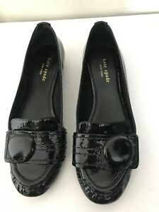 Kate Spade Shelly Black Patent Crinkle