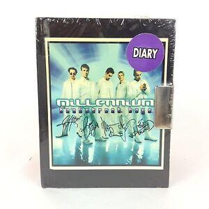 90s Backstreet Boys Millennium Mini Notebook Diary 45 X 35 Size