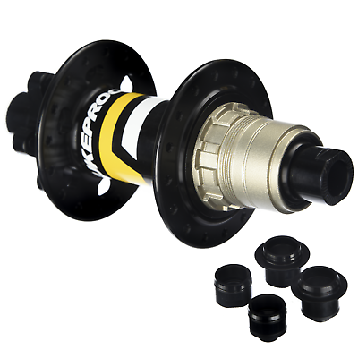 Bicycle Free hub Cycling Part For Koozer XM490 Alloy Black Replacement