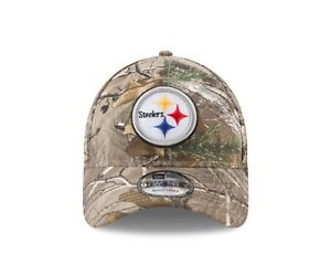 3ca1535d582 Image is loading Pittsburgh-Steelers-New-Era-Realtree-Camo-9TWENTY -Adjustable-