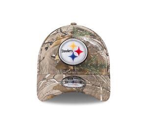 Image is loading Pittsburgh-Steelers-New-Era-Realtree-Camo-9TWENTY- Adjustable- 09a566aa3f7d