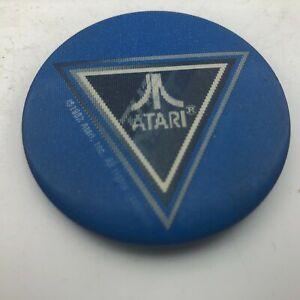 Rare ATARI Flicker Pin Button Pinback The Nex Decade 1982 Advertising Vintage S7