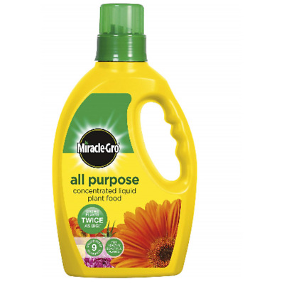 Miracle-Gro Grow All Purpose Liquid Plant Food Concentrated Fertilizer 1  Litre 753923282564 | eBay