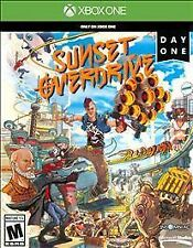 BRAND NEW Sunset Overdrive Day One Edition Xbox One XB1 Microsoft Factory Sealed