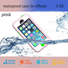 iPHONE 5/5S/SE 100% IMPERMEABLE ANTIGOLPES RESISTENTE SUCIO Resistente FUNDA
