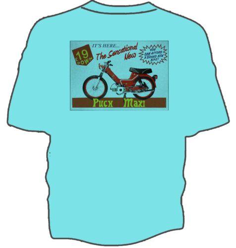 Retro Puch Maxi advert t-shirt