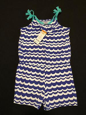 NWT Gymboree Girls Desert Dreams Blue Wave Stripe Romper Size 4 5 6 7 8 /& 10