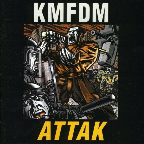 1 of 1 - KMFDM - Attak [New CD]