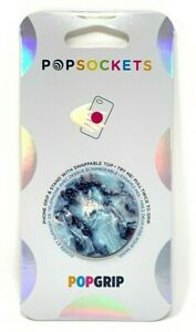 PopSockets-Phone-Grip-Universal-Phone-Holder-PG-BLUE-MARBLE-SWAPPABLE-Style-NEW