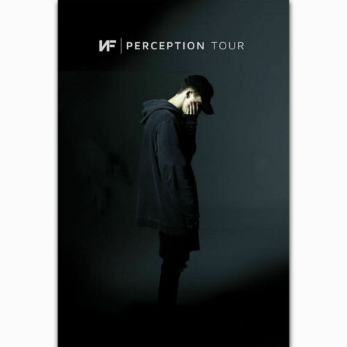NF Perception Tour Rapper Music Group Music Singer Star Fabric Decor Poster B162