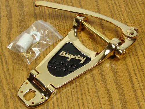 NEW Bigsby B3 Gold TREMOLO Vibrato Bridge Archtop Electric Guitar B3G
