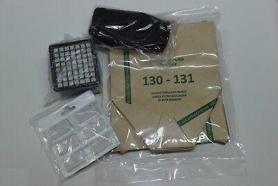 Vorwerk Kobold Vk 130 131 Kit  12 sacchetti 12 profumi 2 filtro spugna 2 Hepa
