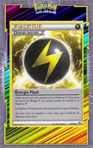 Energie Flash XY7:Origines Antiques Carte Pokemon Neuve Française 83//98