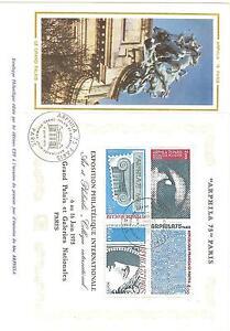 ENVELOPPE-1-er-JOUR-ARPHILA-1975-BLOC