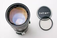 Soligor Auto-Zoom 90mm-230mm f/4.5 Telephoto for Minolta MD Filter & Caps (1896)