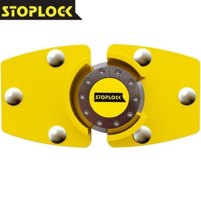 STOPLOCK UNIVERSAL HIGH SECURITY VAN DOOR LOCK & PAD LOCK ANTI THEFT SHED LOCK