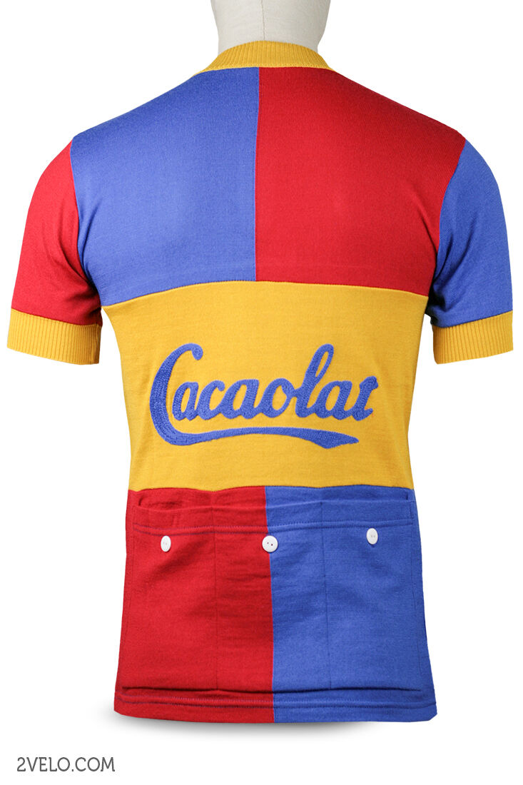 PENA SOLERA CACAOLAT wool vintage wool CACAOLAT jersey, new, never worn XXL 5ecb10