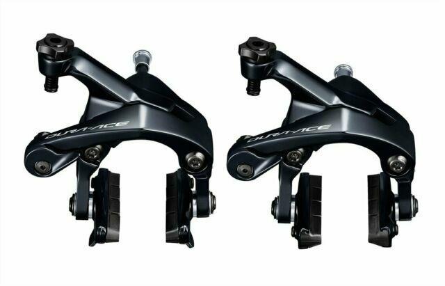 Front +Rear Shimano Dura Ace BR-R9100 R9100 Bicycle Caliper Brake Pair Black