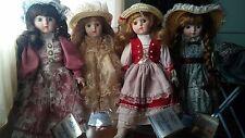 Bambole di porcellana THE HERITAGE MINT COLLECTION anni '80