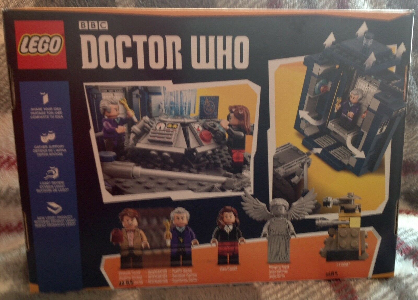 NEW LEGO Ideas Doctor Who Building Toy Set TARDIS Dalek Weeping Angel 21304 NIB
