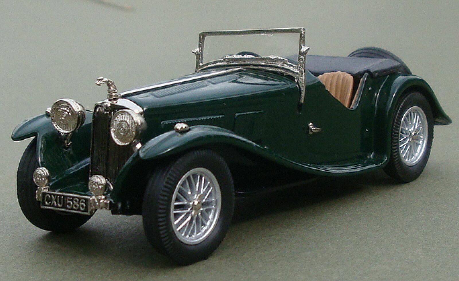Modèles de  Lansdowne 1938 AC 16 80 SPORTS ROADSTER VERT  design simple et généreux