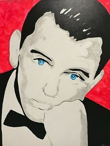 Frank-Sinatra-Nice-and-Easy-Icon-Singer-Ol-039-Blue-Eyes-Music-Rat-pack-Painting