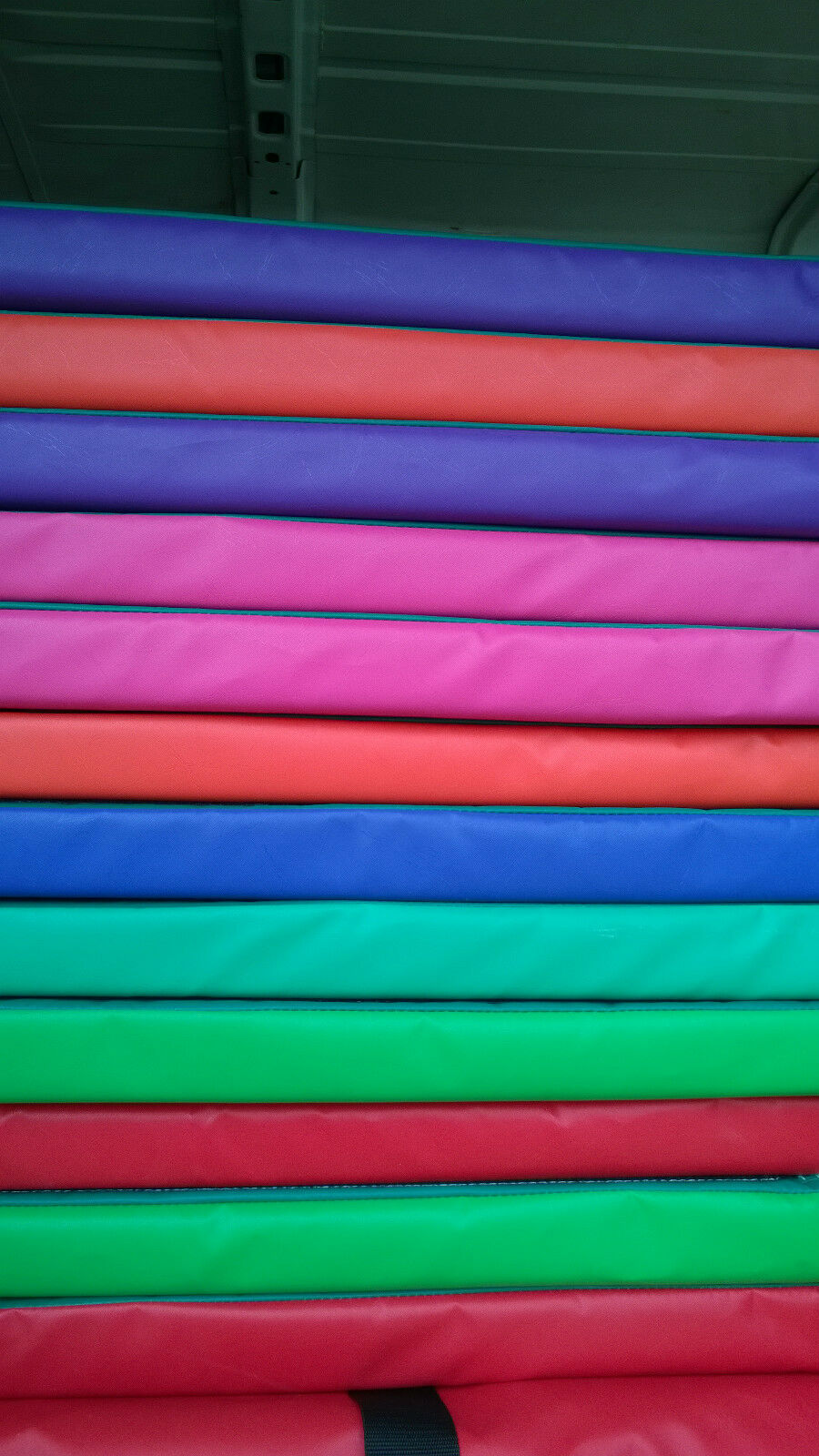 12 x Soft Play Mats approx 3 ft x 4ft x 2 inch velcro together  FREE POST
