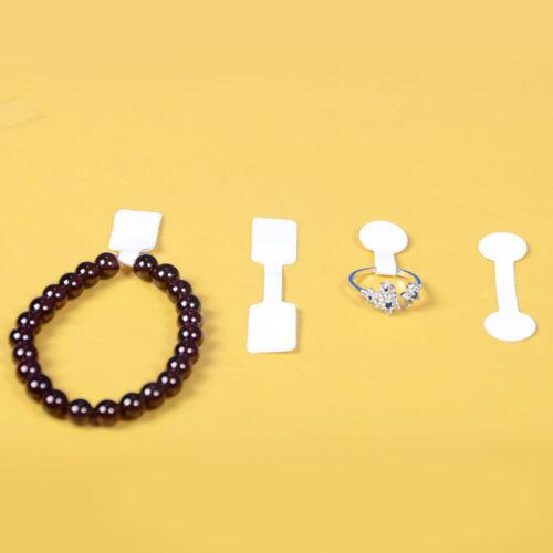 200 Stück in 2 Sets Selbstklebende Schmucketiketten Halskette Ring Armband