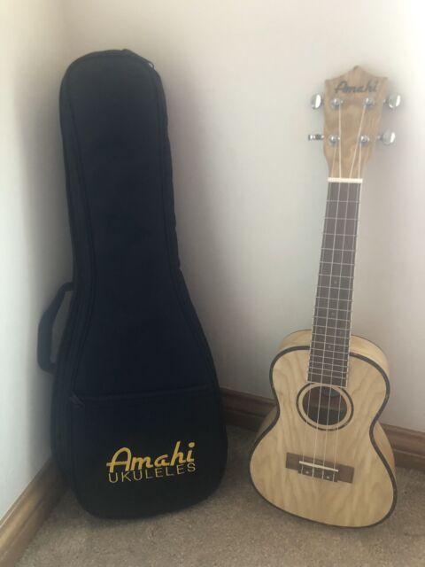 Amahi Classic Uk550c Flamed Maple Concert Ukulele For Sale Online Ebay