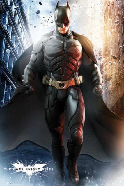 Gotham City Batman Dark Knight Large Poster or Canvas Art Print Maxi A1 A2 A3 A4