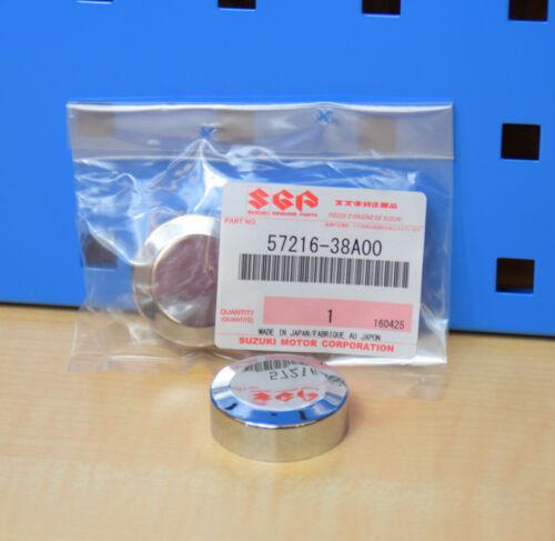 2 pièce d/'origine Suzuki VS 750 1400 Intruder Chrome Capuchon Guidon Chrome Capuchon