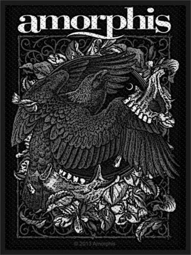 """Woven Sew On Patch 2.75/"""" x 4/"""" Amorphis Circle Bird"""