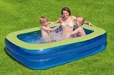 Planschbecken Rigid Wall Pool ø150x25 Kinderpool Schwimmbecken mit festen Wänden