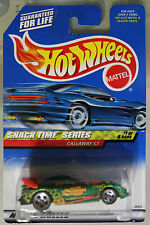 Hot Wheels 1:64 Scale 1999 Snack Time Series CALLAWAY C7