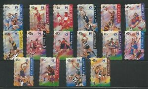 1 Set 1996 Centenary Of Australian Football League Set De 16 Sa (170)-afficher Le Titre D'origine