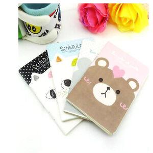Cute-Cat-Diary-School-Notebook-Scheduler-Korea-Stationary-Soft-Cover-GX