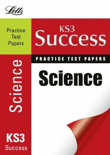Science: Practice Test Papers (Letts Key Stage 3 Success) By Jackie Clegg, Bob