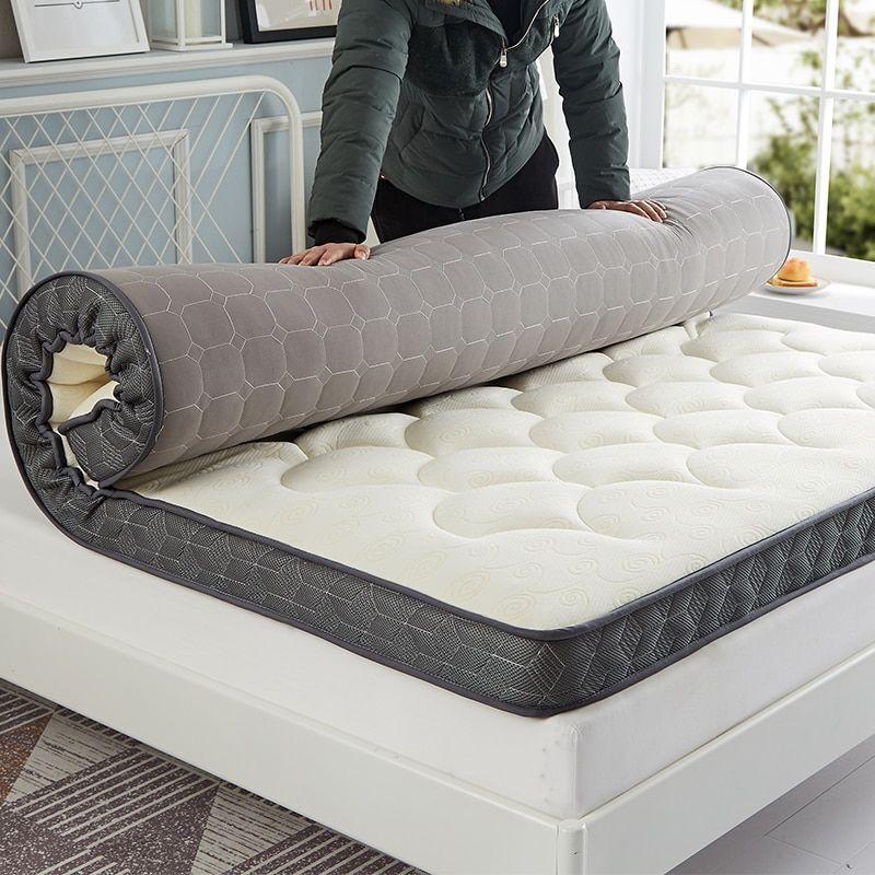 Colchón Doble Grueso Plegable camas solo los estudiantes Colchas King Queen Twin