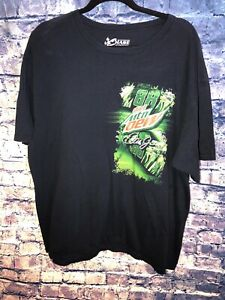 Dale Earnhardt Jr 88 Chase Authentics NASCAR T-Shirt Men's Size 2xl Mountain Dew