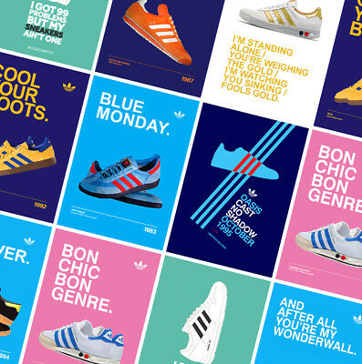 ADIDAS CASUALS CLASSIC TRAINERS POSTERS