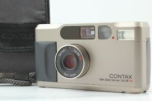[Near MINT w/ Case] Contax T2 35mm Point and Shoot Film Camera From JAPAN